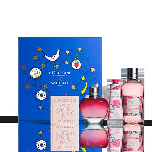 Coffret Cadeau Parfum Pivoine