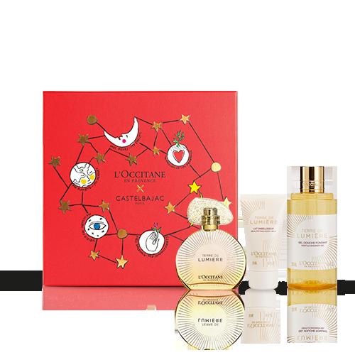 Coffret Cadeau Noël - Parfum Terre de Lumière
