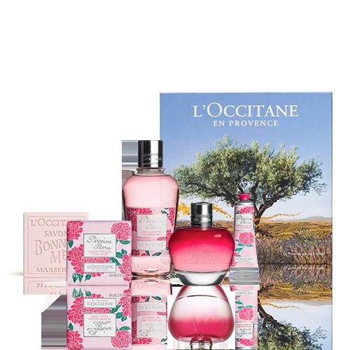 Coffret Parfum Pivoine Flora