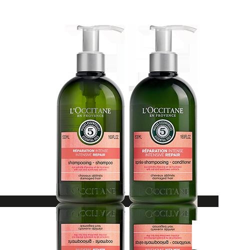 Duo Shampooing et Après-shampooing Réparation Intense Aromachologie