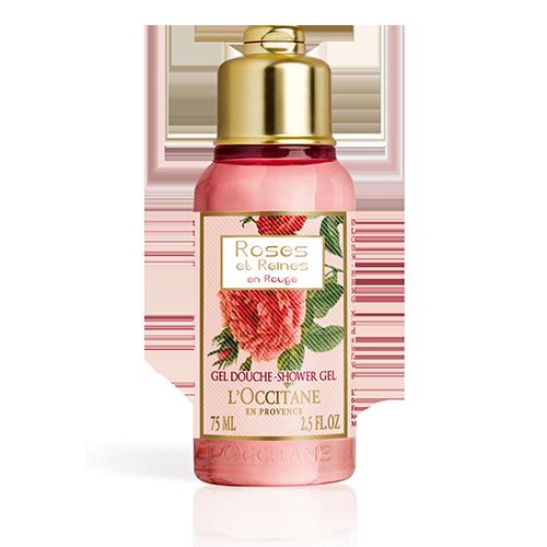 Gel Douche Roses et Reines en Rouge