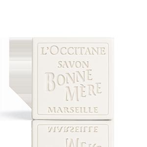 סבון טבעי מוצק בון מר - חלב