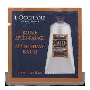 After shave balm for men sample