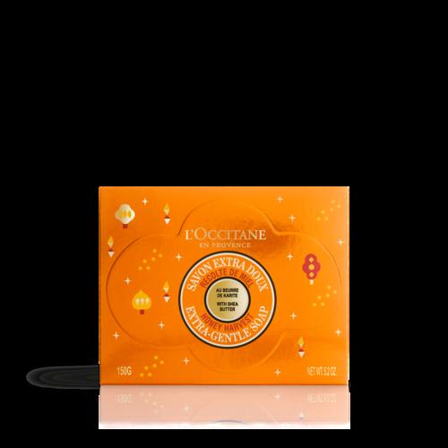 סבון מוצק לגוף חמאת שיאה דבש עדין במיוחד
