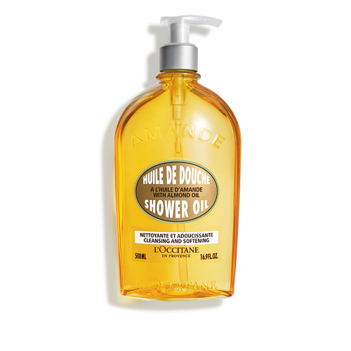 Almond Shower Oil (Big size)