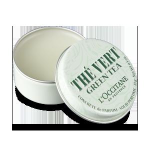 Green Tea Solid Perfume