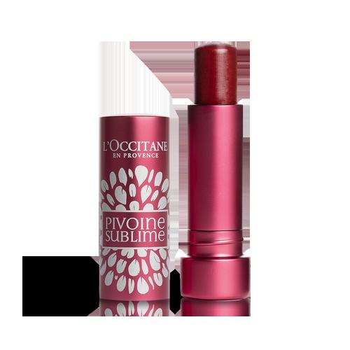Peony Tinted Lip Balm Rose Plum