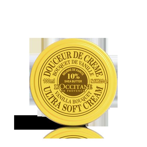 Shea Ultra Soft Cream - Vanilla Bouquet 100ml