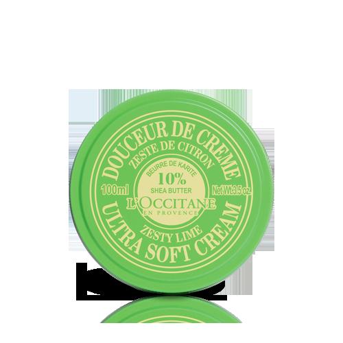 Shea Ultra Soft Cream - Zesty Lime 100ml