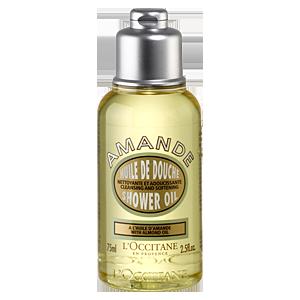 Almond Shower Oil Travel Size