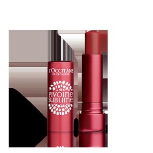 Balzam za usne u boji Raskošan božur SPF 25 Red