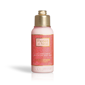 Roses et Reines Beautifying body milk travel size