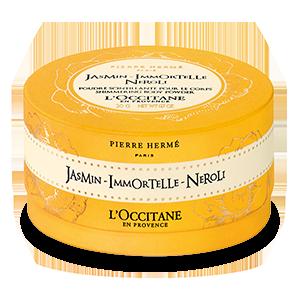 Svjetlucavi puder za tijelo Jasmin-Immortelle-Neroli