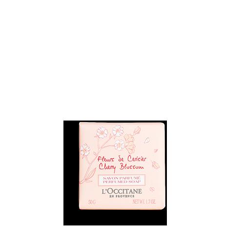 Cherry Blossom Perfumed Soap 50g