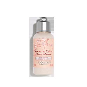 Cseresznyevirág csillámló testápoló tej