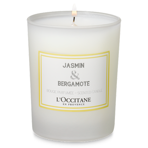 Jázmin & Bergamot illatgyertya