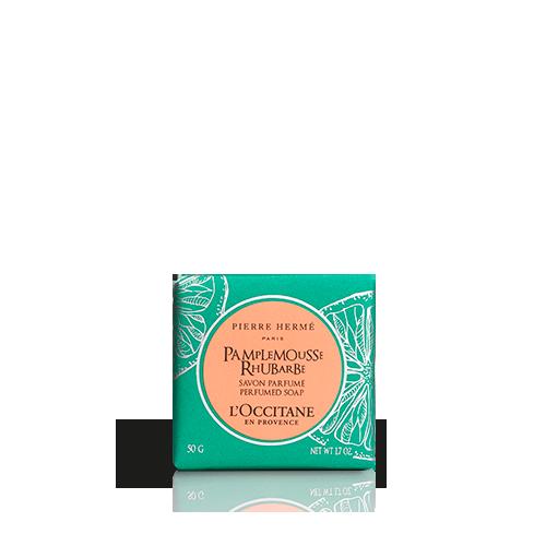 Grapefruit-Rebarbara parfümszappan