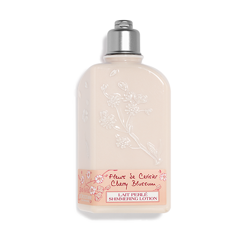 Cseresznyevirág csillámló testápolótej