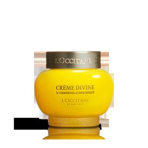 L'Occitane Divine Cream, anti aging face cream with essential oils