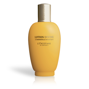 L'Occitane's Divine Lotion, a moisturizing anti-aging facial toner with natural ingredients