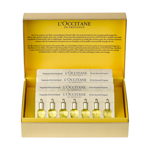 L'Occitane's 28 Day Divine Renewal Program, an advanced anti-aging skin care ritual