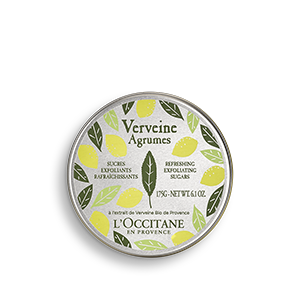 L'Occitane Body Scrub Citrus Verbena Refreshing Exfoliating Sugars