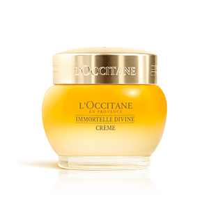 L'Occitane Divine Cream, krim wajah anti aging dengan essential oil