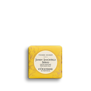 Jasmin Immortelle Neroli Perfumed Soap membersihkan dan mengharumkan kulit.