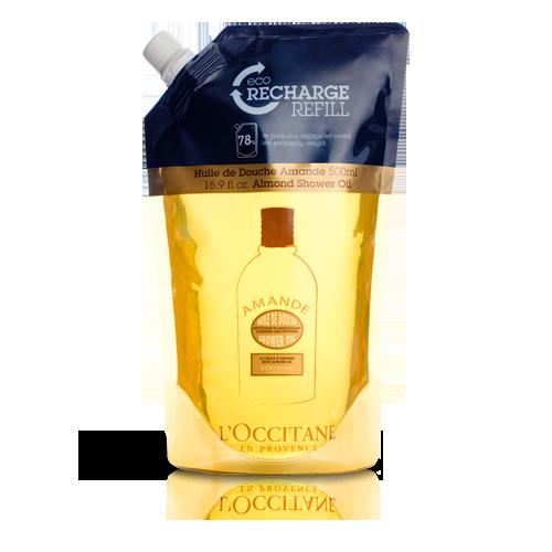 Almond Moisturizing Shower Oil Eco Refill