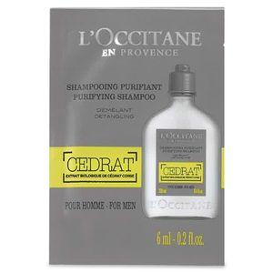 Campione shampoo purificante Cédrat