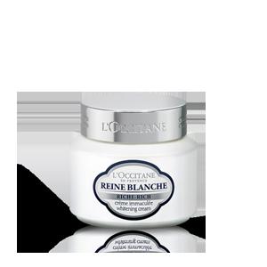 Crema Ricca Immaculée Reine Blanche | L'OCCITANE