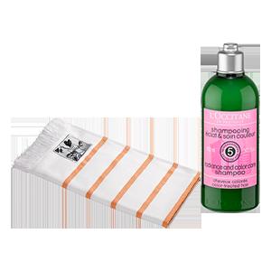 Duo Shampoo Trattamento Colore e Fouta