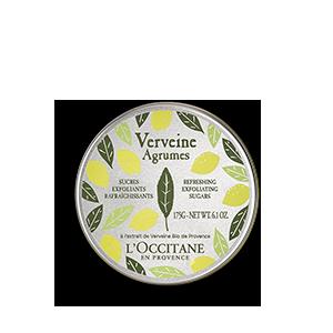 Zuccheri Esfolianti Rinfrescanti Verveine Agrumes| Scrub Corpo rinfrescante