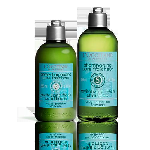 Duo Shampoo e Balsamo Aromachologie Fraîcheur