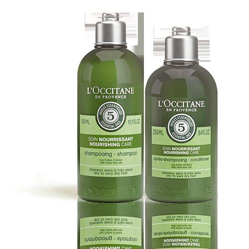Duo Shampoo e Balsamo Nutriente Aromachologie