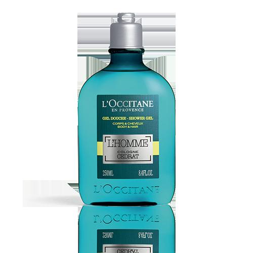 Gel Doccia Corpo & Capelli L'Homme Cologne Cédrat 250 ml