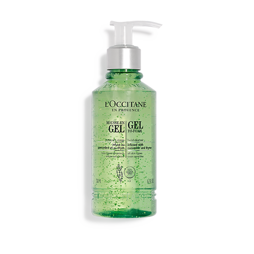 Gel in mousse Detergente viso Infusé 200ml