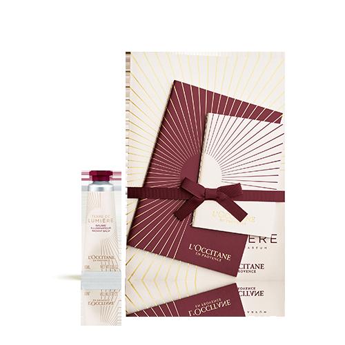 Il tuo quaderno e il tuo Balsamo Illuminante