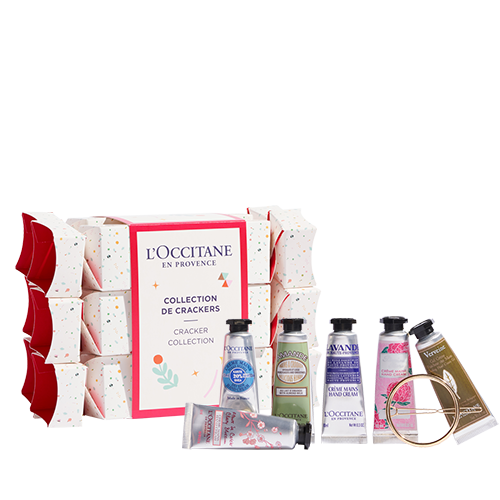 Kit di 6 Cracker di Natale Creme Mani 10ml + 1 accessorio