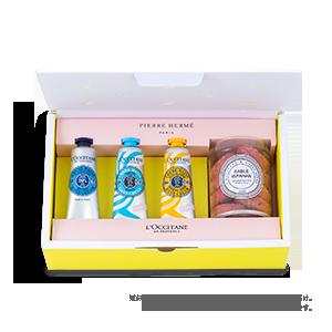 【クッキーサブレとお届け】PIERRE HERME PARIS × L'OCCITANE (モイスト)◆