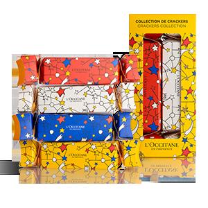 "4 staigmenų rinkinys ""Crackers"" | L'OCCITANE"