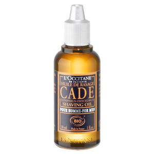 Cade Shaving Oil organic certified