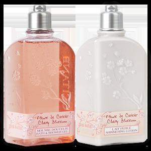 Cherry Blossom Shower Gift Set