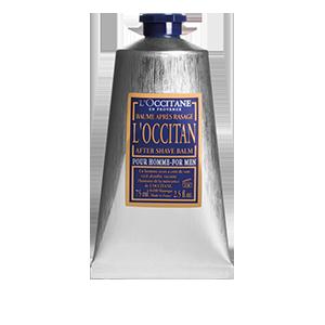 L'Occitan balzamas po skutimosi