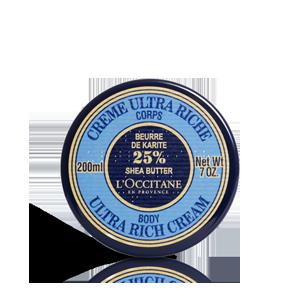 Maitinamasis kūno kremas su 25% taukmedžių sviesto