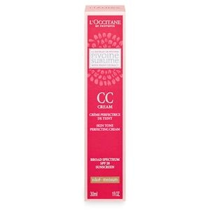 Pivoine Sublime CC Skin Tone Perfecting Cream Medium SPF20