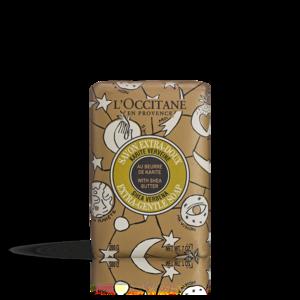 Riboto leidimo kolekcijos verbenų kvapo taukmedžių sviesto muilas