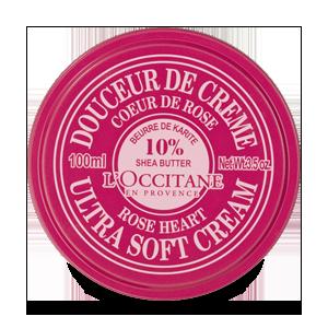 Rožių kvapo kūno kremas su 10% taukmedžių sviesto