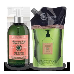 Stiprinamasis sausų ir pažeistų plaukų šampūnas su papildymu
