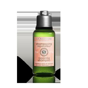 Stiprinamasis sausų ir pažeistų plaukų šampūnas